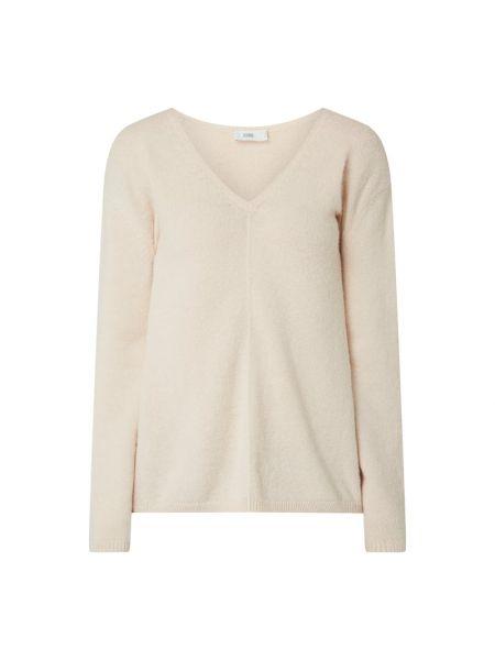 Różowy sweter wełniany z długimi rękawami Closed