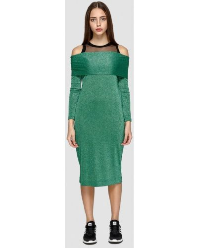 Вечернее платье осеннее зеленый Dolcedonna