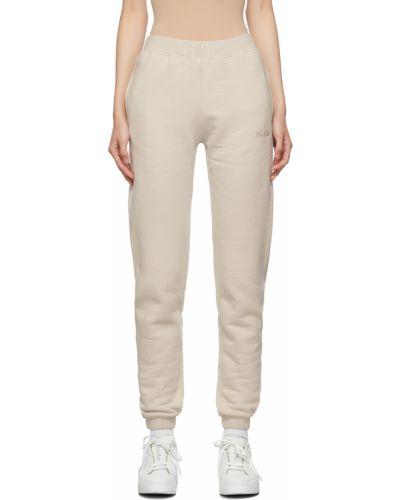 Białe spodnie bawełniane S Max Mara