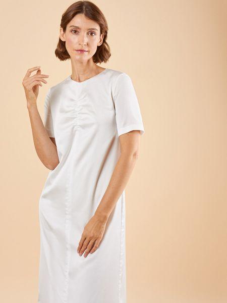 Платье макси со складками 12storeez
