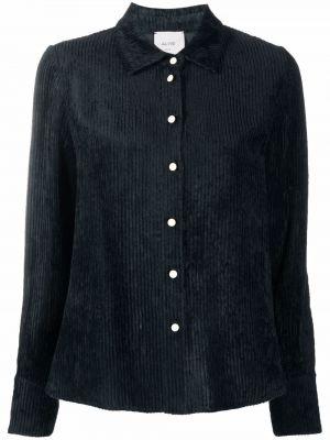 Koszula wełniana - niebieska Alysi