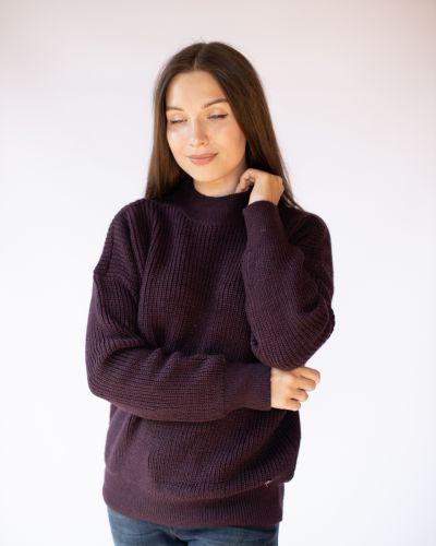 Фиолетовый свитер Mustang