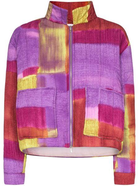 Pikowana kurtka długa z kieszeniami Collina Strada