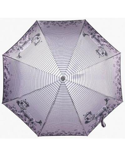 Фиолетовый зонт складной Fabretti