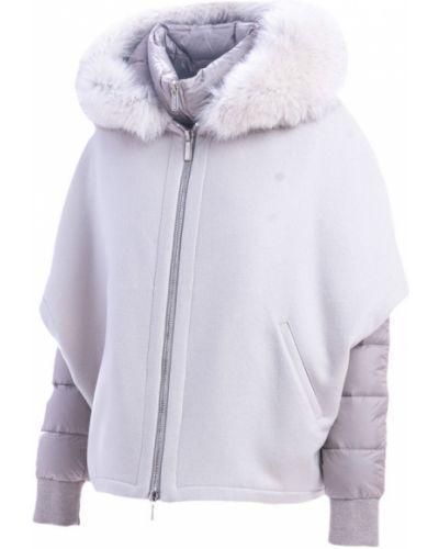 Biały płaszcz Moorer