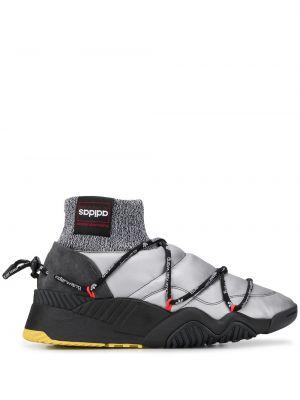 Кроссовки с логотипом на пуговицах Adidas Originals By Alexander Wang