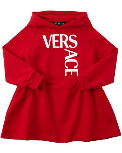 Хлопковое платье Versace