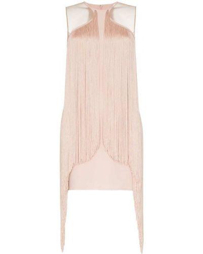 Платье мини розовое облегающее Stella Mccartney