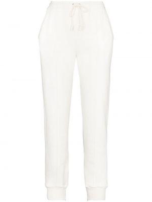 Bawełna bawełna biały sportowe spodnie Gucci