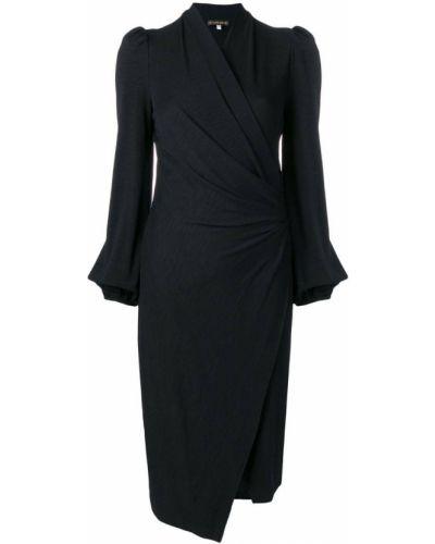 Однобортное драповое приталенное платье Plein Sud