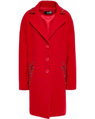 Пальто с карманами Love Moschino