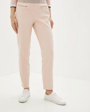 Розовые брюки с воротником Betty Barclay