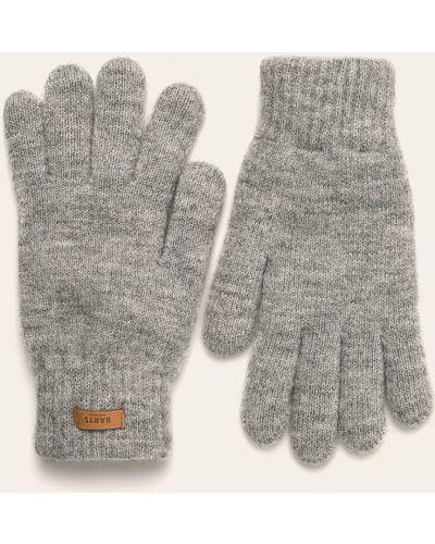 Перчатки акриловые серые Barts