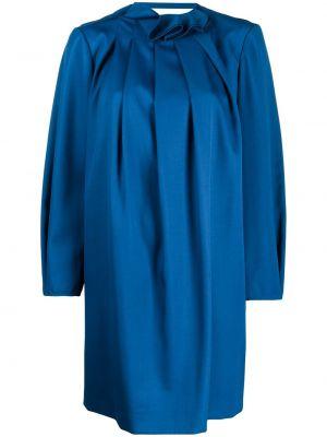 Платье со складками трапеция Nina Ricci