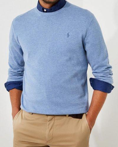 Голубой джемпер осенний Polo Ralph Lauren