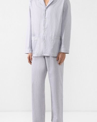 Пижама в полоску хлопковая Zimmerli
