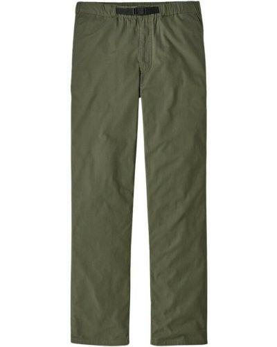 Zielone spodnie Patagonia