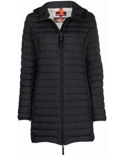 Черное длинное пальто Parajumpers