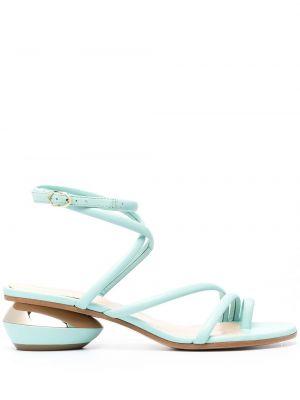 Sandały, niebieski Nicholas Kirkwood