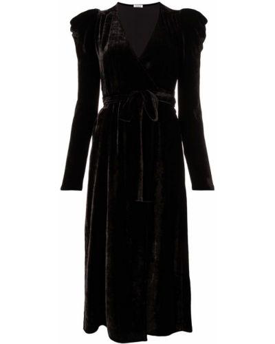 Платье с поясом шелковое P.a.r.o.s.h.