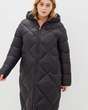 Утепленная куртка демисезонная черная Incity