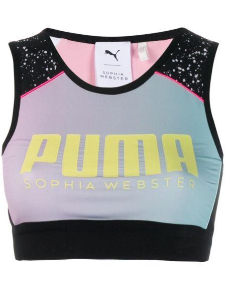 Черный спортивный топ Puma X Sophia Webster