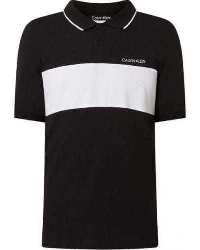 Czarna T-shirt z nadrukiem z printem Ck Calvin Klein