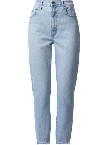Укороченные джинсовые зауженные джинсы классические Nobody Denim