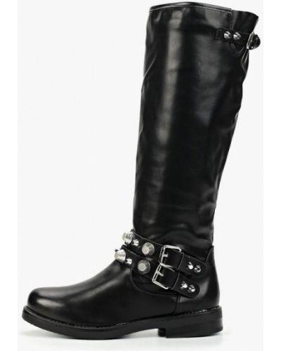 Ботинки на каблуке черные осенние Fersini