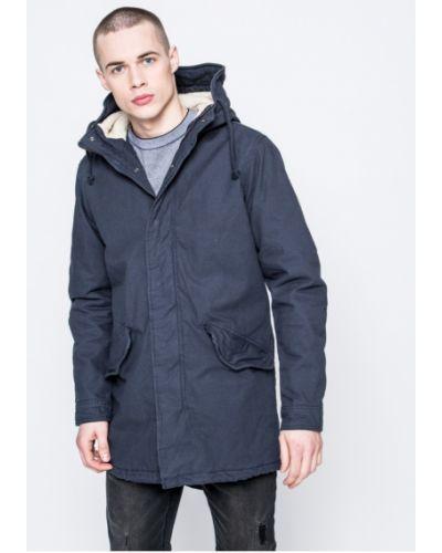 Утепленная куртка с капюшоном из полиэстера Jack & Jones
