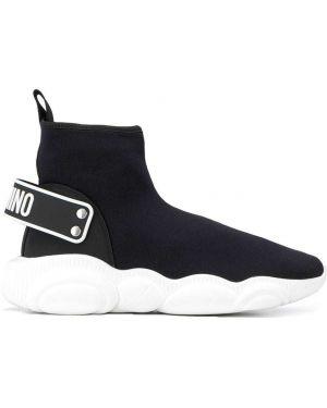 Черные носки Moschino