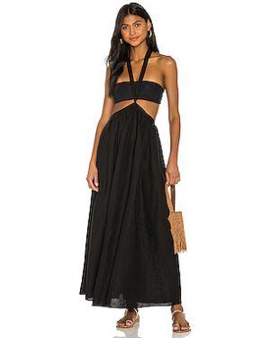 Платье макси на пуговицах двубортное Mara Hoffman