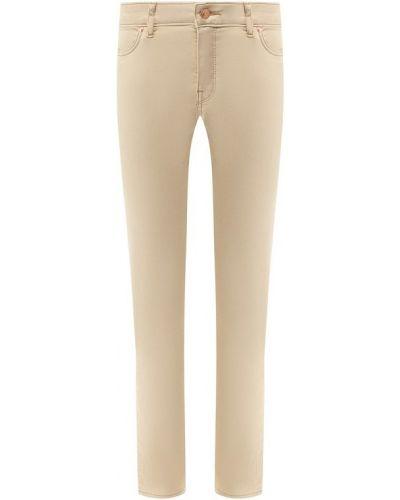8d5ccbbeb91 Женские бежевые укороченные джинсы - купить в интернет-магазине - Shopsy