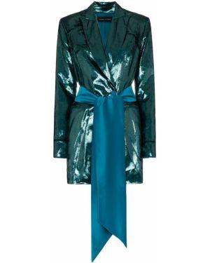 Платье с поясом на пуговицах платье-пиджак Michael Lo Sordo