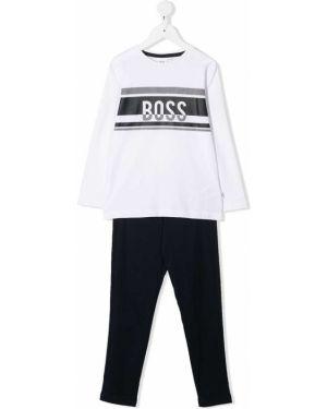Spodni piżama z nadrukiem długo Boss Kids