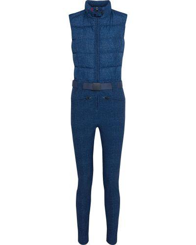 Niebieski garnitur z paskiem klamry Perfect Moment
