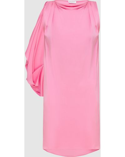 Розовая шелковая пляжная туника Vionnet