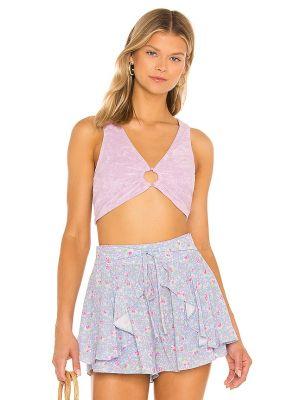 Фиолетовый топ Majorelle
