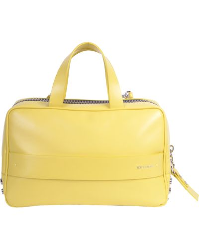 Желтая кожаный сумка Iceberg