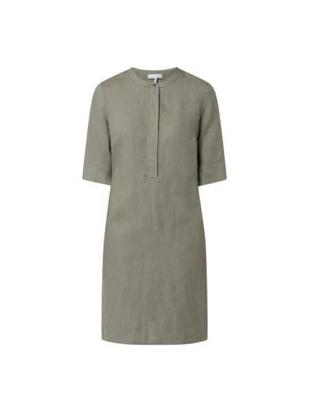 Sukienka rozkloszowana - zielona Cinque
