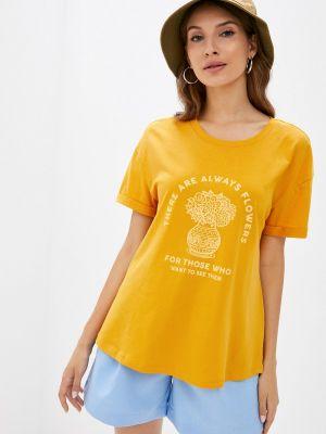 Желтая турецкая футболка Colin's