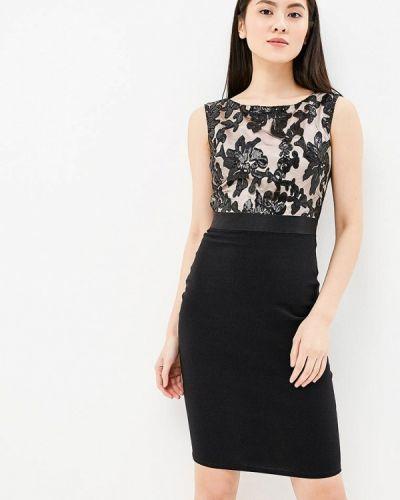 Черное платье весеннее Goddiva