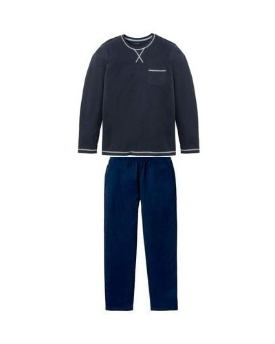 Пижама со штанами - синяя Livergy