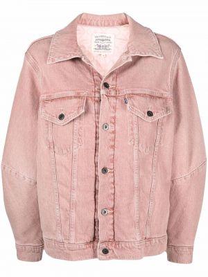 Хлопковая джинсовая куртка - розовая Levi's®  Made & Crafted™