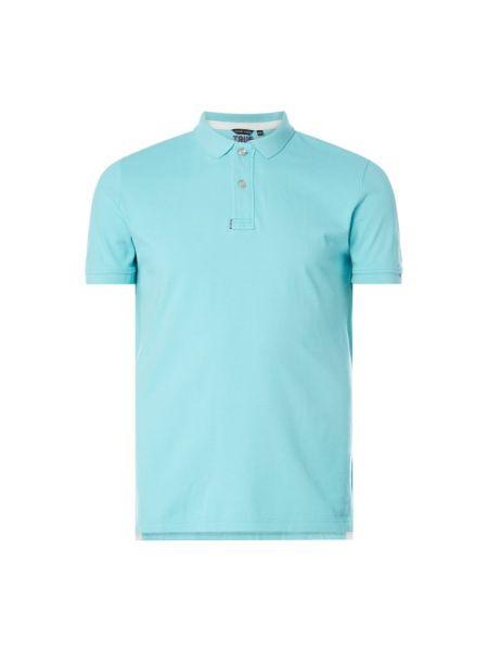 T-shirt bawełniana - turkusowa Code Zero