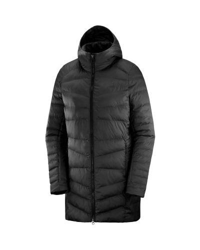 Серая куртка из полиэстера Salomon