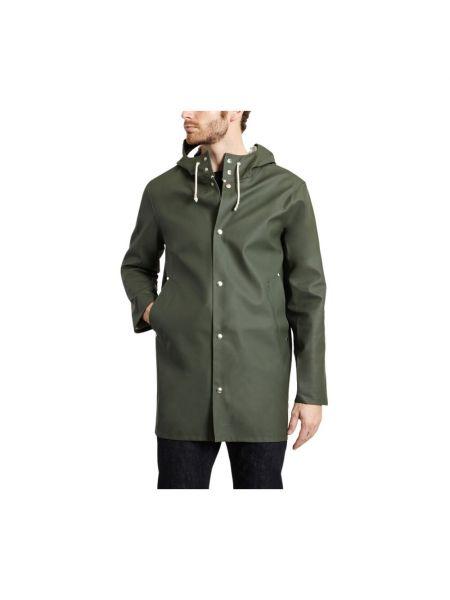 Zielony płaszcz Stutterheim