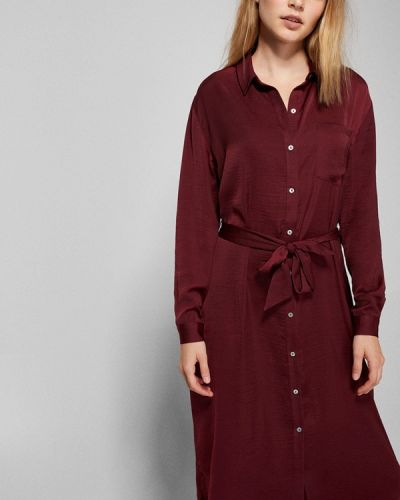 Платье - бордовое Springfield