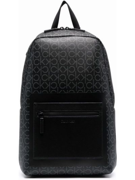 Кожаная сумка - черный Calvin Klein
