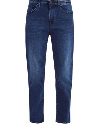 Прямые джинсы свободные с мехом Jacob Cohen